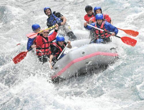 Conheça o Rafting
